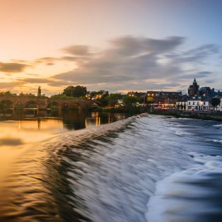 River Nith in Dumfries